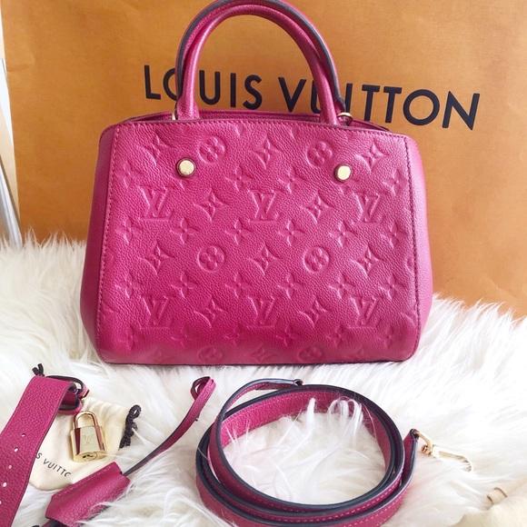 Louis Vuitton Handbags - Montaigne BB